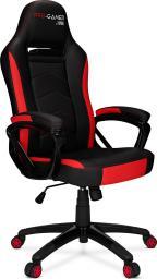 Fotel PRO-GAMER Atilla Carbon 2.0 Czarno-czerwony