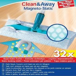 Leifheit Clean Away Ścierki Antystat. 32szt 56642