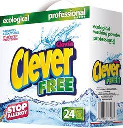 Clever Clever Free 1,68 kg – ekologiczny, hipoalergiczny proszek do prania