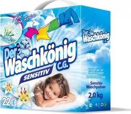 Der Waschkönig Proszek do prania Der Waschkönig C.G. Sensitiv 2 kg - 22 WL uniwersalny