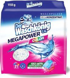 Der Waschkönig Proszek do prania Der Waschkönig C.G. MegaPower Color 1155 g - 21 WL uniwersalny