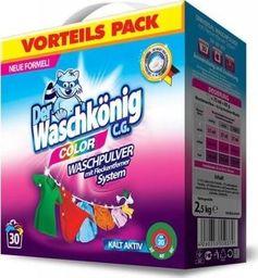 Der Waschkönig Proszek do prania Der Waschkönig C.G. Color 2,5 kg - 30 WL uniwersalny