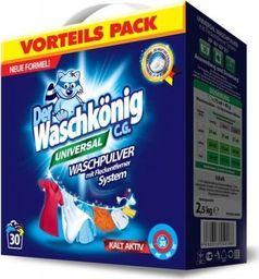 Der Waschkönig Proszek do prania Der Waschkönig C.G. Universal 2,5 kg - 30 WL uniwersalny