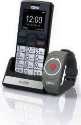 Telefon komórkowy Maxcom MM 715 BB SOS + BRANSOLETKA SOS (MAXCOMMM715BBSOS)