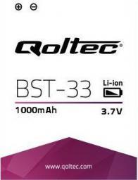 Bateria Qoltec Bateria do Sony Ericsson C702 G502 M600, 1000mAh 7725.BST-33