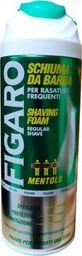 Figaro Pianka do golenia Figaro mentol 400ml uniwersalny