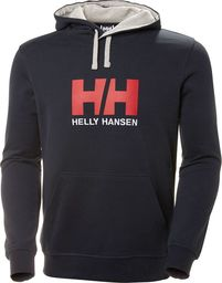 Helly Hansen Bluza męska Logo Hoodie granatowa r. XL (33977-597)