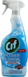 Cif Spray do łazienki Cif Power & Shine Glas 750 ml uniwersalny