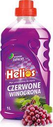 Helios Płyn uniwersalny do mycia podłóg Helios-Winogrono 1L uniwersalny