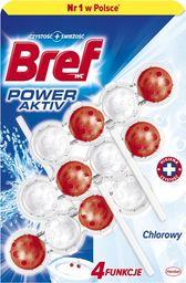 BREF Zawieszka do WC Bref Active Chlorine 3x50g uniwersalny