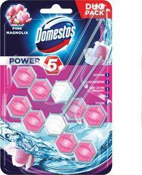 Domestos Zawieszka do WC Domestos Power5 Pink Magnolia 2x55g uniwersalny