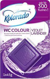 Kolorado Kostka barwiąca do spłuczki kolorado Fioletowy 45g uniwersalny
