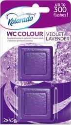 Kolorado Kostka barwiąca do spłuczki kolorado Fioletowy 2x45g uniwersalny