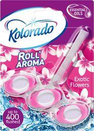 Kolorado Kostka toaletowa kolorado Roll Aroma Exotic Flowers 51g uniwersalny