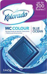 Kolorado Kostka barwiąca do spłuczki kolorado Niebieski Ocean 45g uniwersalny