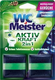 WC Meister Kostka barwiąca do spłuczki WC Meister - zapach lasu uniwersalny