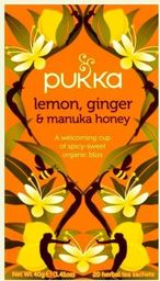 Pukka Herbs Pukka Organic Lemon Ginger & Manuka Honey Tea uniwersalny