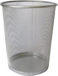 Kosz na śmieci Feniks 20L srebrny (FEN000323)