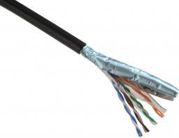 Solarix Cable FTP zewnętrzny przewód PE 305m/box kategorii 5e SXKD-5E-FTP-PE