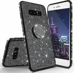 nemo Etui Diamond Ring Glitter Brokat SAMSUNG GALAXY S10