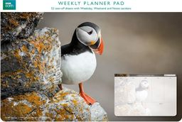 Museums & Galleries Planer tygodniowy Puffin