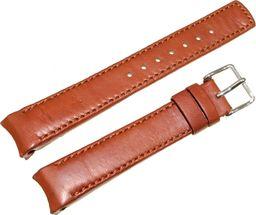 Hirsch Skórzany wodoodporny pasek do zegarka 18 mm HIRSCH Leonardo 12700670-2-18 uniwersalny