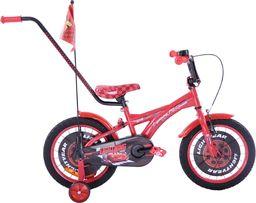 Rower dziecięcy 16 Auta CARS zygzak McQueen czerwony uniwersalny