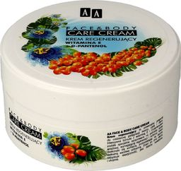 AA Cosmetics Krem do ciała Face & Body Care Cream Witamina E & D-Pantenol regenerujący 125ml
