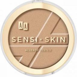 AA Bronzer do twarzy Sensi Skin Modeling&Sparkling Face Bronzer 01 Amber 9g