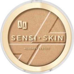 AA Cosmetics Bronzer do twarzy Sensi Skin Modeling&Sparkling Face Bronzer 02 Macchiato 9g