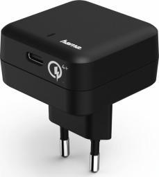 """Ładowarka Hama SIECIOWA """"Qualcomm® Quick Charge™ 4+ / Power Delivery (PD), CZARNA (001782730000)"""