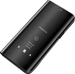 Hurtel Clear View Case futerał etui z klapką Huawei P30 Pro czarny uniwersalny