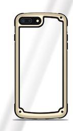 Hurtel Solid Frame etui wytrzymały pokrowiec z żelową ramką iPhone 8 / 7 złoty uniwersalny