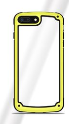 Hurtel Solid Frame etui wytrzymały pokrowiec z żelową ramką iPhone 8 / 7 żółty uniwersalny