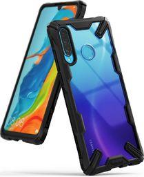 Ringke Ringke Fusion X etui pancerny pokrowiec z ramką Huawei P30 Lite czarny (FXHW0017) uniwersalny