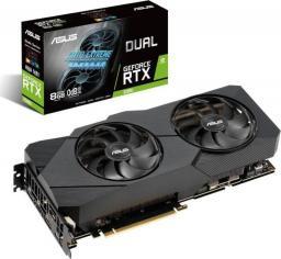 Karta graficzna Asus GeForce 2080 RTX DUAL ADVANCED EVO 8GB (90YV0CL1-M0NM00)