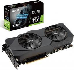 Karta graficzna Asus GeForce 2080 RTX DUAL OC EVO 8GB (90YV0CL0-M0NM00)