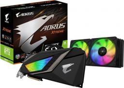 Karta graficzna Gigabyte GeForce RTX 2080Ti Xtreme Waterforce 11GB GDDR6 (GV-N208TAORUSX W-11GC)