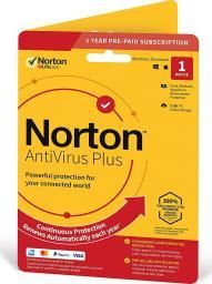 NORTON ANTIVIRUS PLUS 2GB PL 1 USER 1 DEVICE