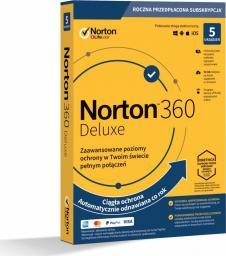 NORTON 360 DELUXE 1 USER 5 DEVICE + 50 GB + VPN (21394627)
