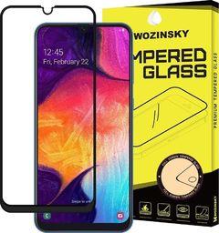 Wozinsky Wozinsky super wytrzymałe szkło hartowane Full Glue na cały ekran z ramką Case Friendly Samsung Galaxy A40 czarny uniwersalny