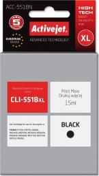 Activejet tusz ACC-551BN / CLI-551BK (black)