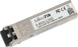 MikroTik 1.25G SFP SX-LC (MM) 850nm 550m DDM for RB260x,RB2011x,CCRx MT S-85DLC05D