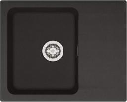 Franke Zlewozmywak 1-komorowy OID 611 z ociekaczem 62 x 50cm onyx (114.0286.441)