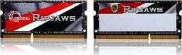 Pamięć do laptopa G.Skill Ripjaws, SODIMM, DDR3L, 16 GB, 1600 MHz, CL9 (F3-1600C9D-16GRSL)