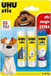 UHU Klej w sztyfcie Stic 8,2g Pets 2 2szt + klej magic