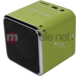 Stacja dokująca Technaxx MusicMan Mini BT-X2 Zielony