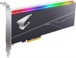 Dysk SSD Gigabyte AORUS AIC NVMe SSD 512GB (GP-ASACNE2512GTTDR)