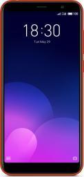 Smartfon Meizu M6T 2/16GB czerwony -MEIZUM6T2/16RED