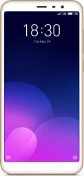 Smartfon Meizu M6T 16 GB Złoty  (MEIZUM6T2/16GOLD)